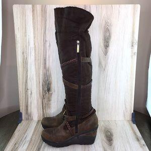 Aldo Brown Knee High Boots